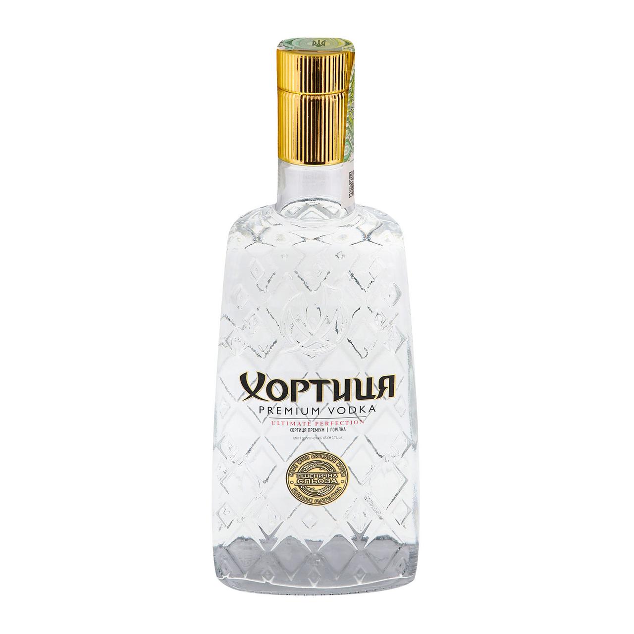 Горілка Хортиця Premium 40% 0.7л