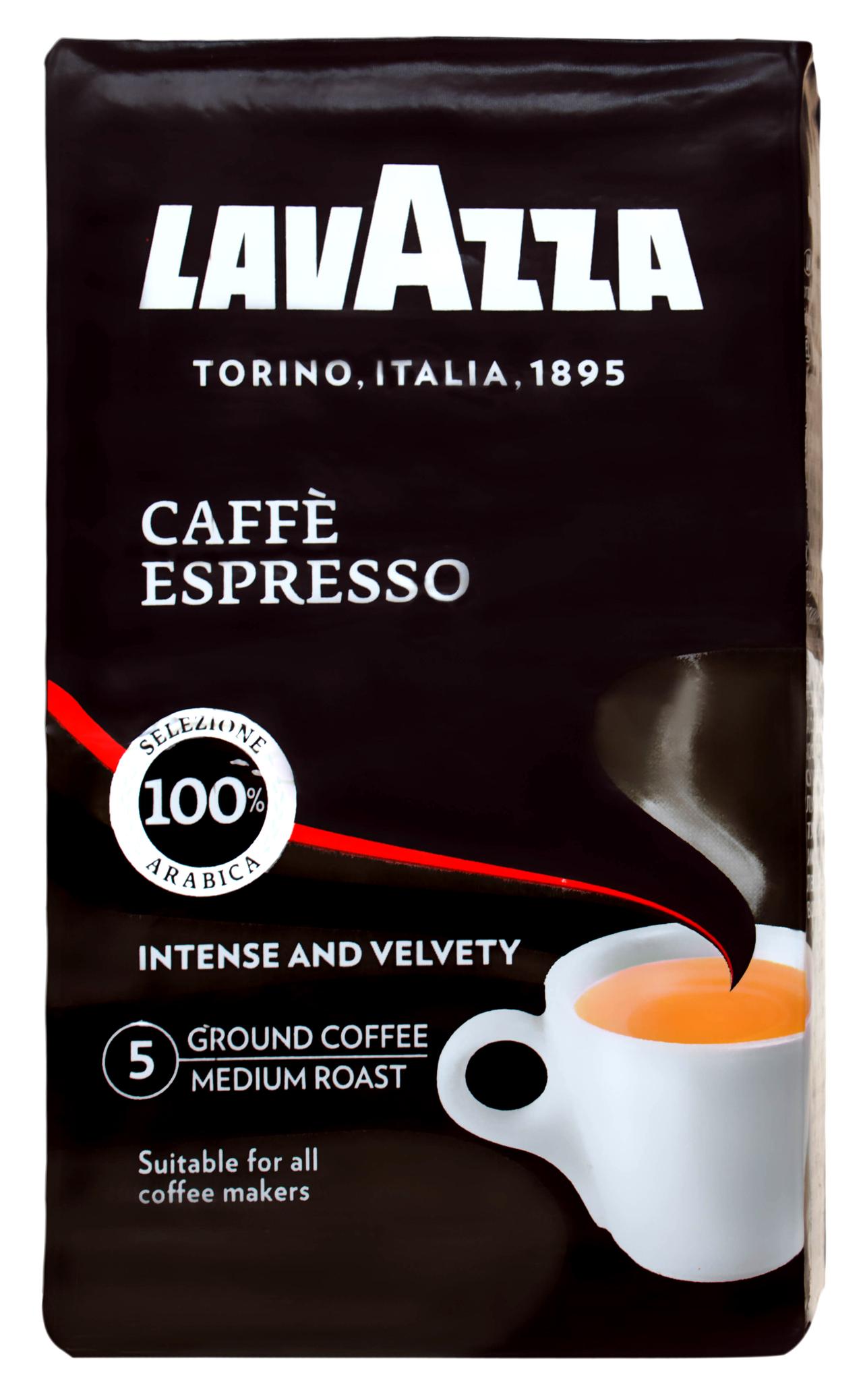 Кава Lavazza Espresso натуральна смажена мелена 250г