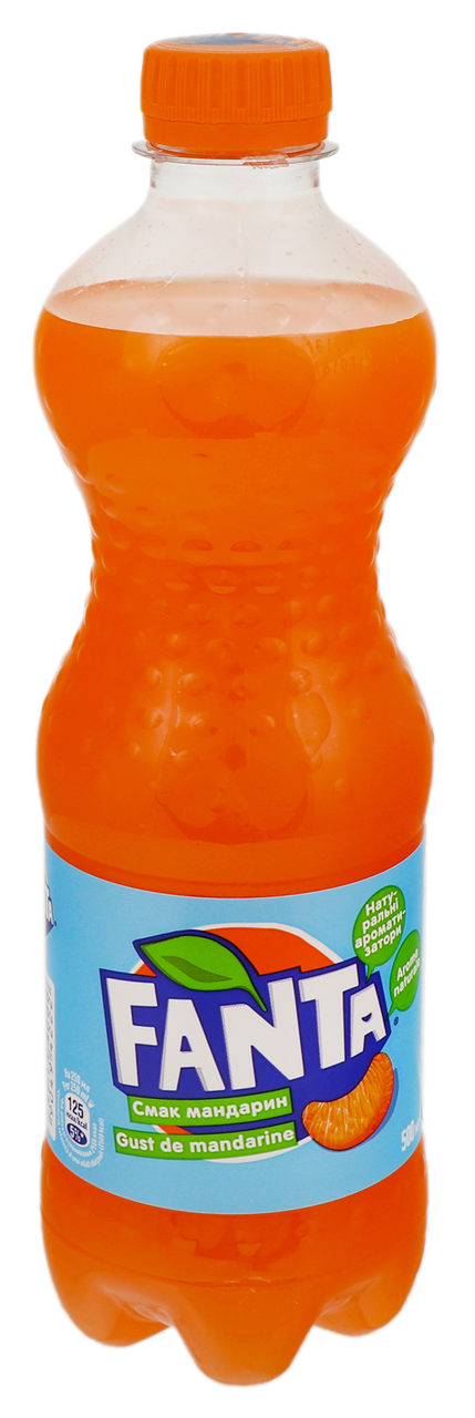 Напій Fanta Мандарин безалкогольний сильногазований 500мл