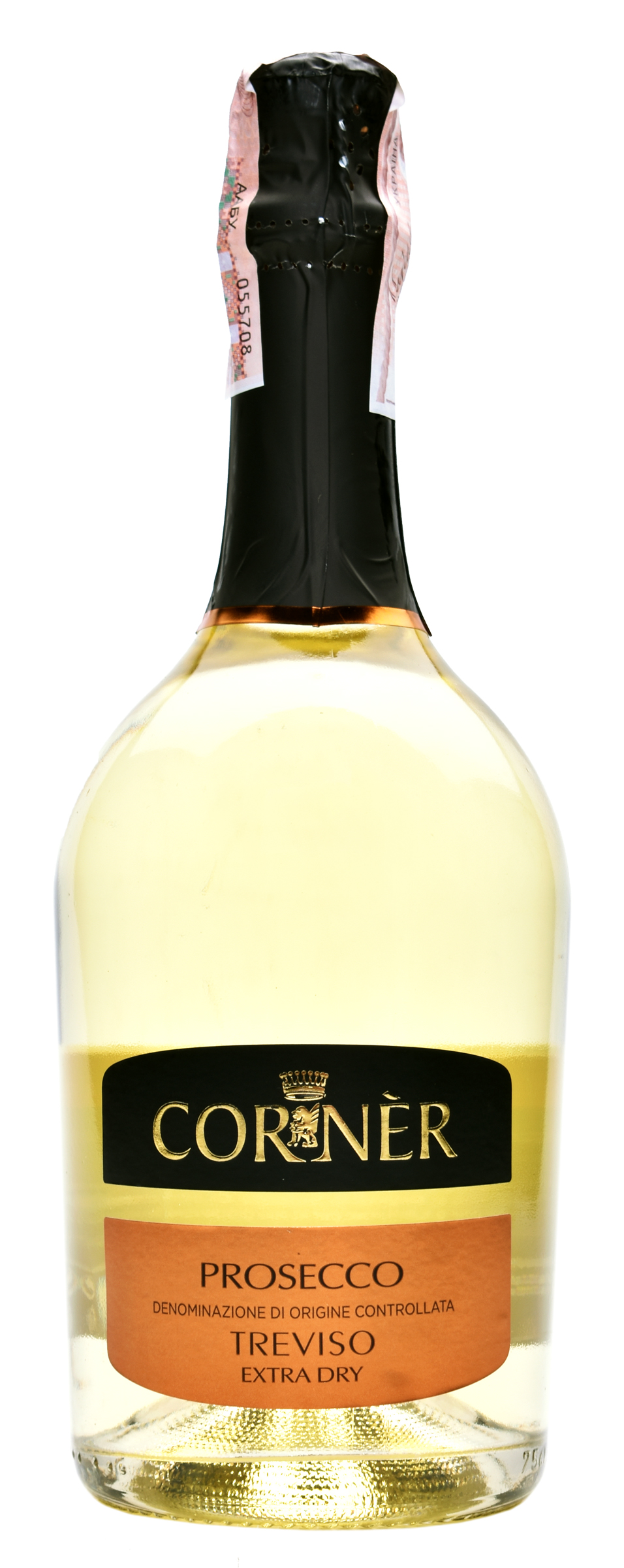 Вино ігристе Corner Prosecco DOC Extra Dry біл сух 11% 0,75л