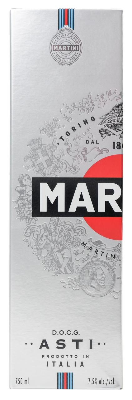 Вино ігристе Martini Asti біле солодке 7,5% 750мл в коробці