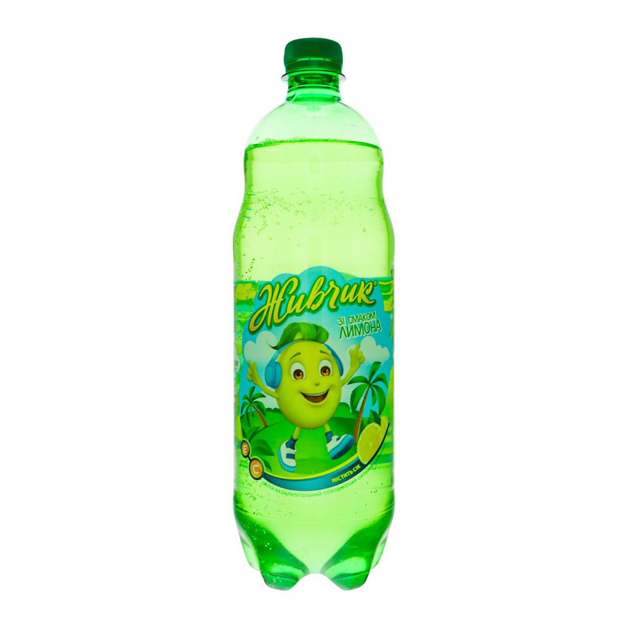 Напій безалкогольний Живчик з соком лимона 1л