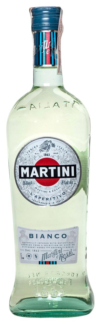 Вермут Martini Bianco білий десертний 15% 0.75л