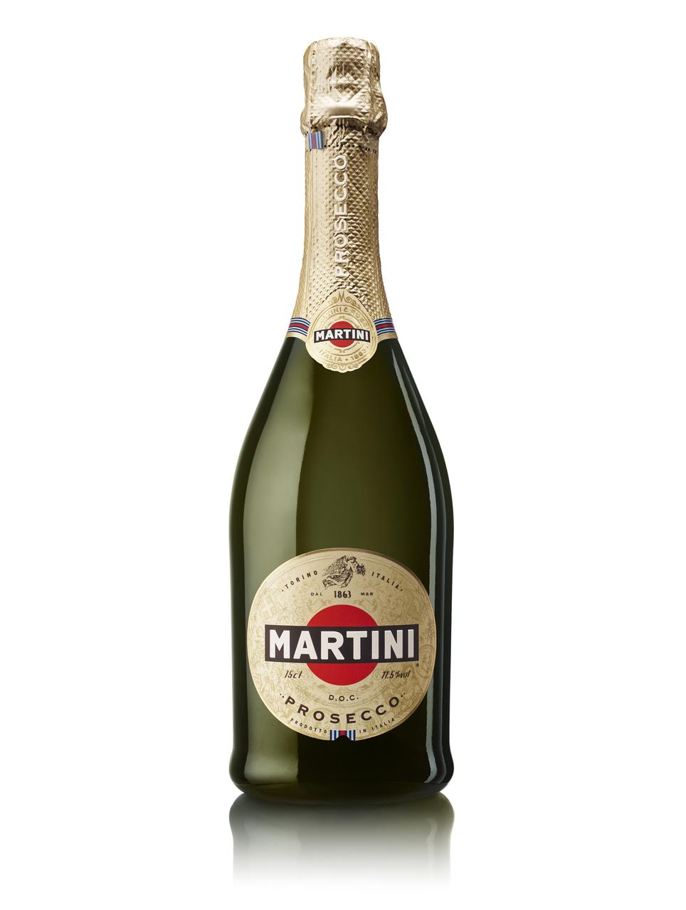Вино ігристе Martini Prosecco біле 11,5% 0,75л