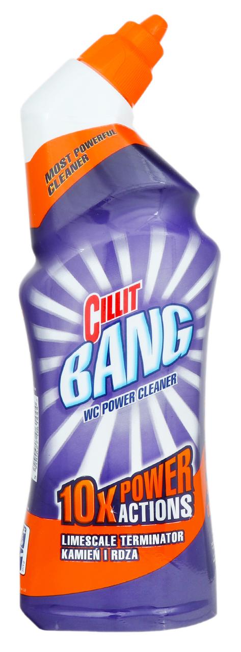 Засіб для чищення унітазу Cillit Bang cила цитруса 750мл