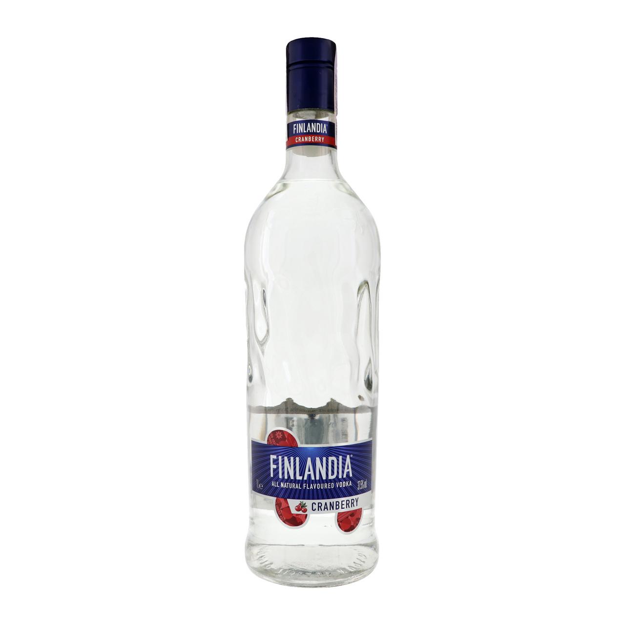 Горілка Finlandia Cranberry біла 37,5% 1л