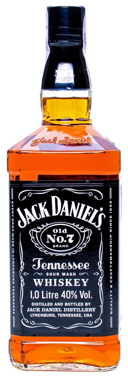 Віскі Jack Daniel`s Tennessee Old No.7 40% 1л