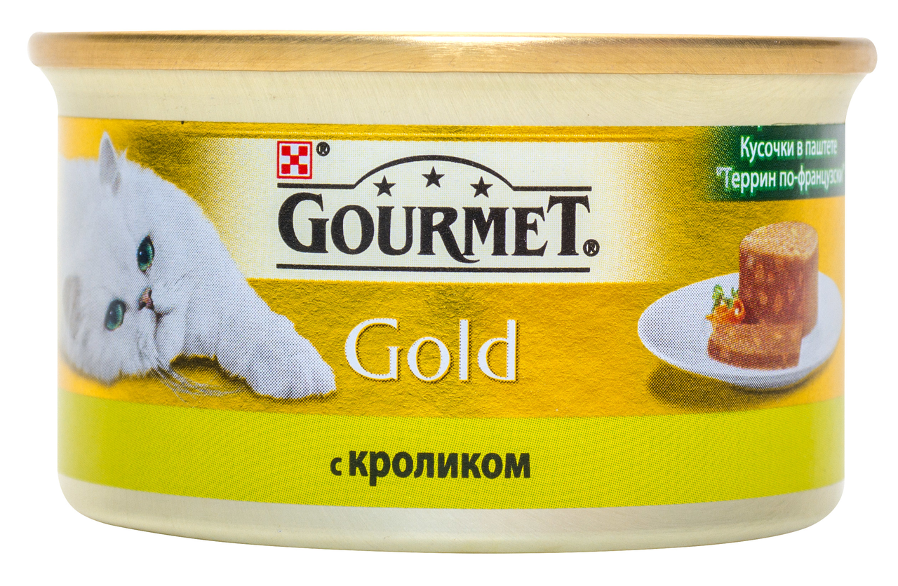 Корм для кішок Purina Gourmet Gold кролик у паштеті 85г