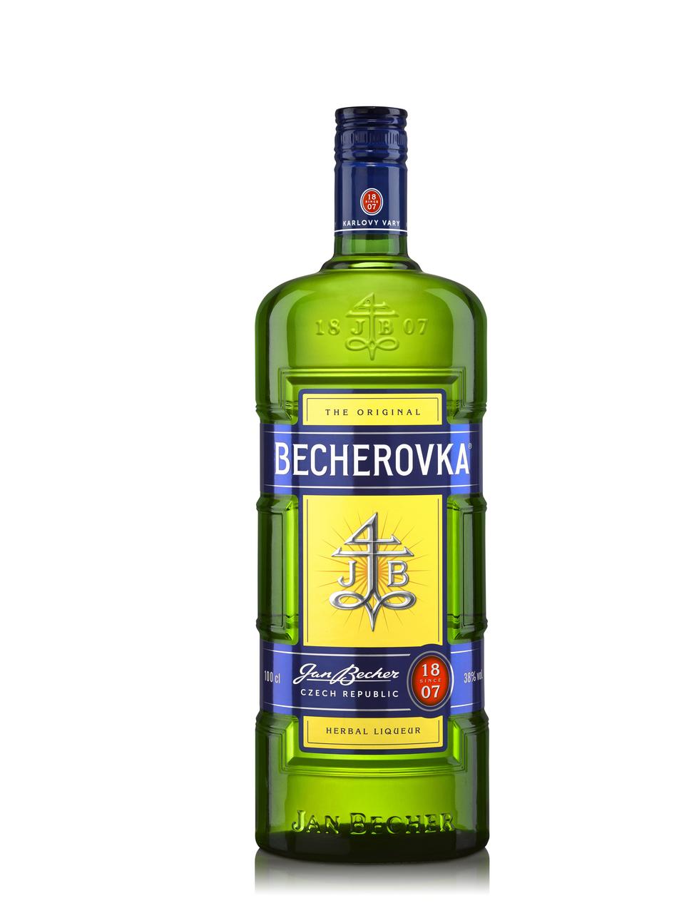 Настоянка Becherovka Original лікерна на травах 38% 1л