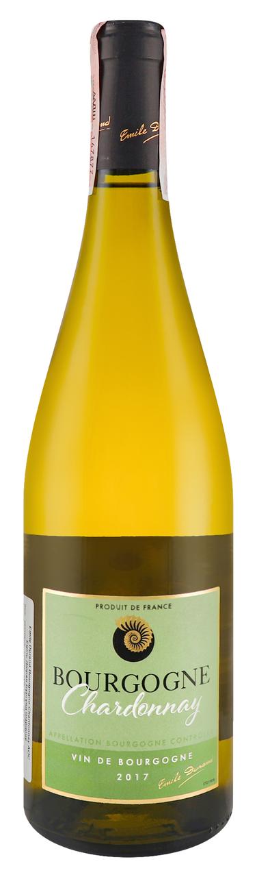 Вино Emile Durand Bourgogne Chardonnay біле сухе 13% 075л