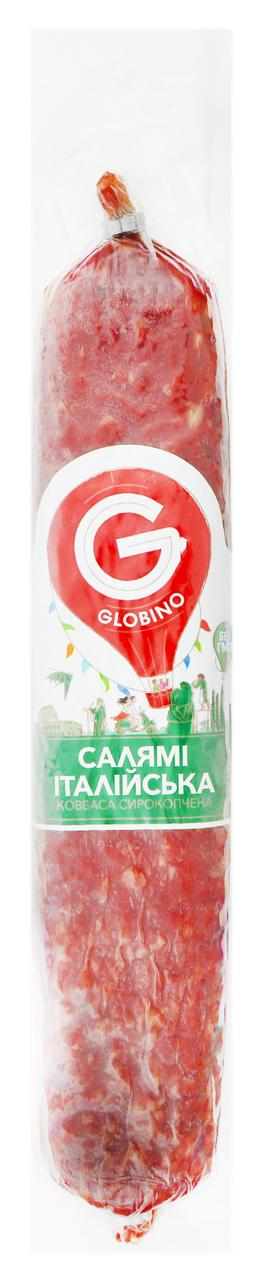 Ковбаса Глобино Італійська сирокопчена вищий сорт 330г