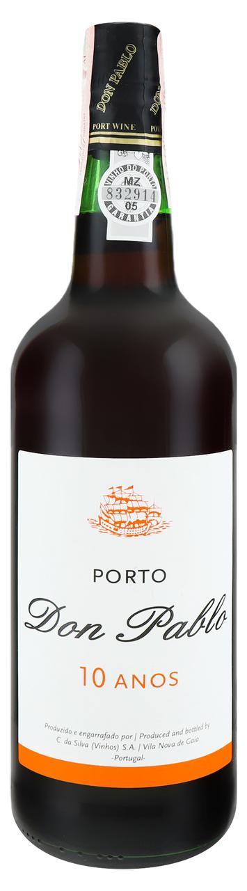 Вино кріплене Don Pablo Porto червоне солодке 10yo 20% 0,75л