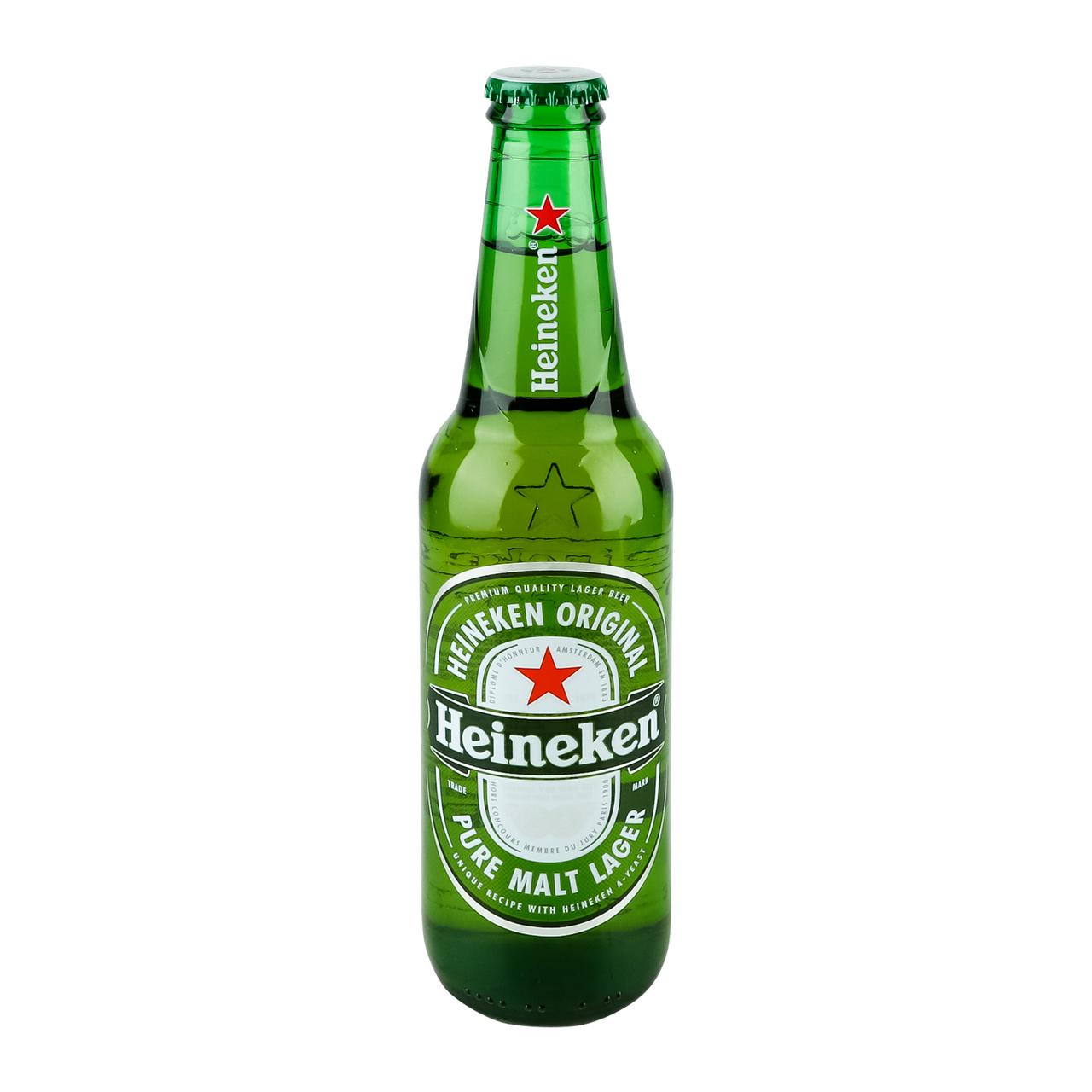 Пиво Heineken світле фільтроване пастеризоване 5% 0,33л