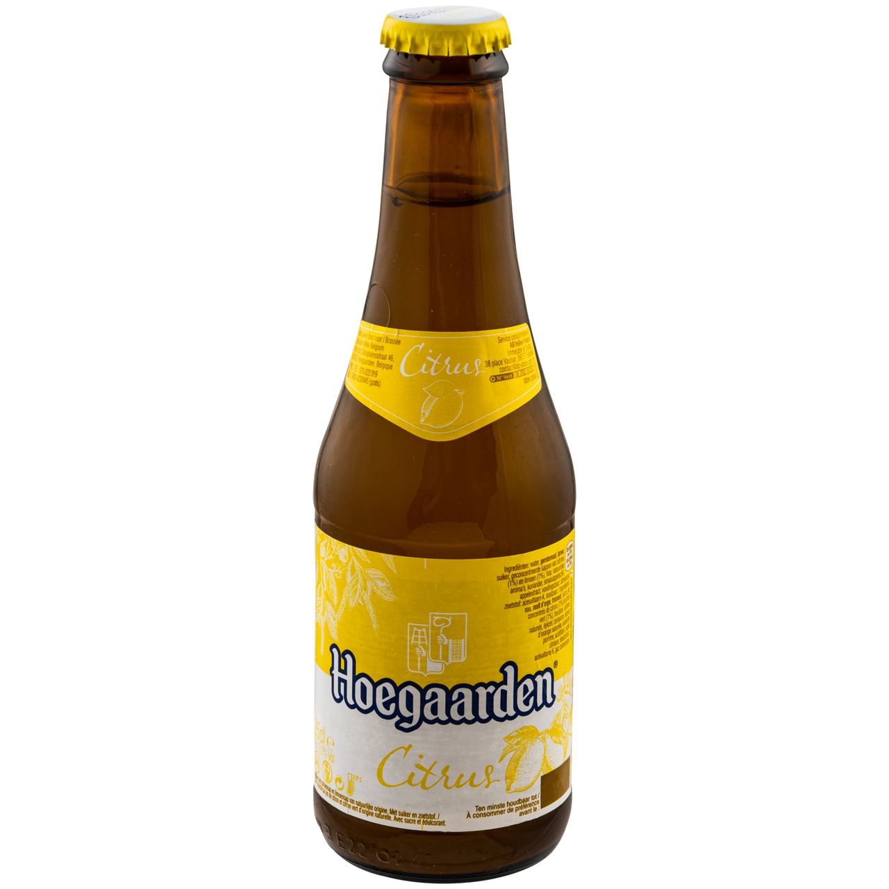 Пиво Hoegaarden Radler Lemon & Lime світле 2% 0,25л
