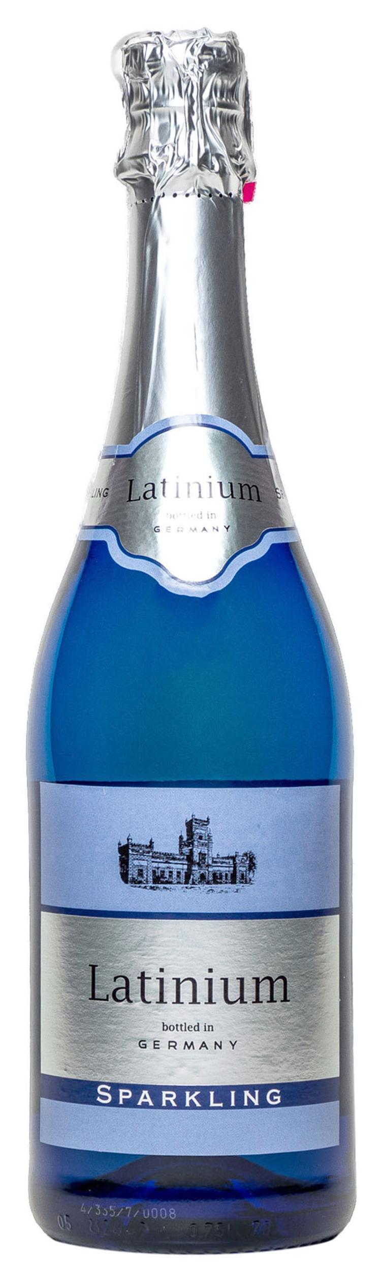 Вино Latinium Sparkling біле напівсолодке 8,5% 0,75л