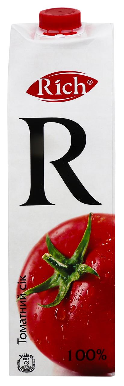 Сік Rich томатний з м`якоттю 1л