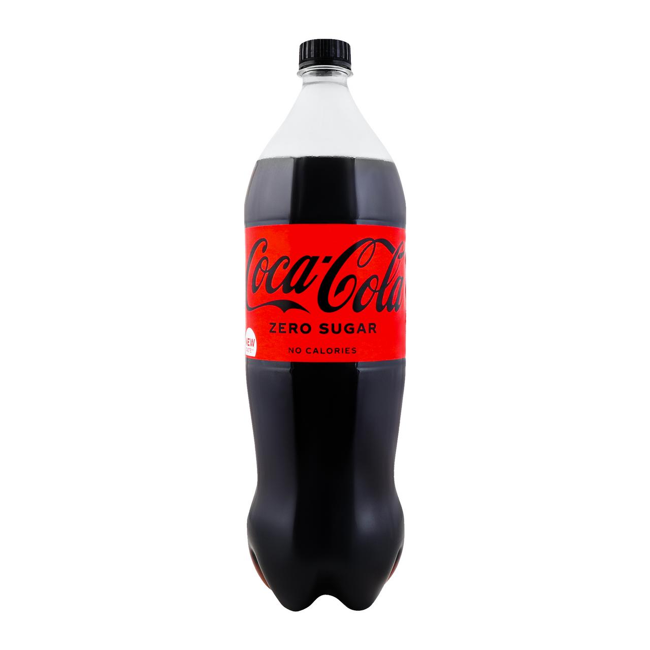 Напій Coca-Cola Zero безалкогольний сильногазований 1,5л