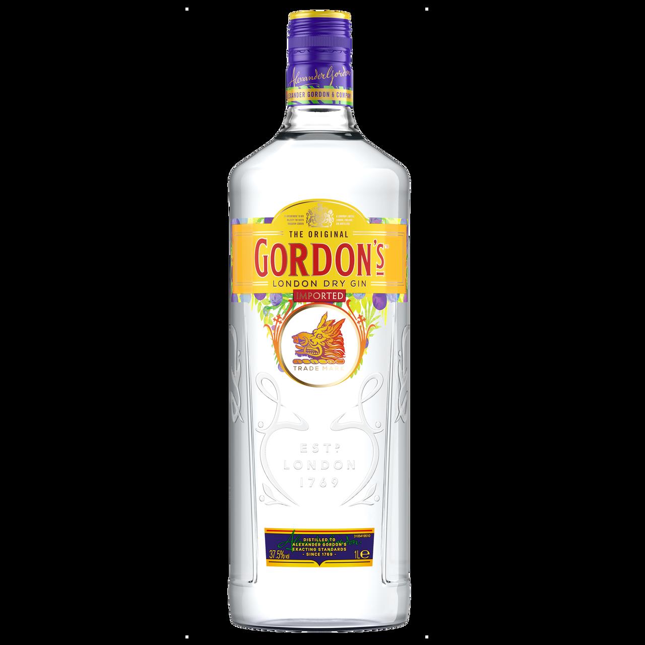Джин Gordon`s 37,5% 1л