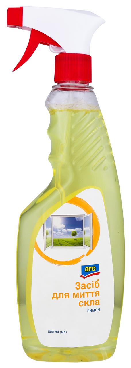 Засіб для миття скла Aro Лимон 500мл
