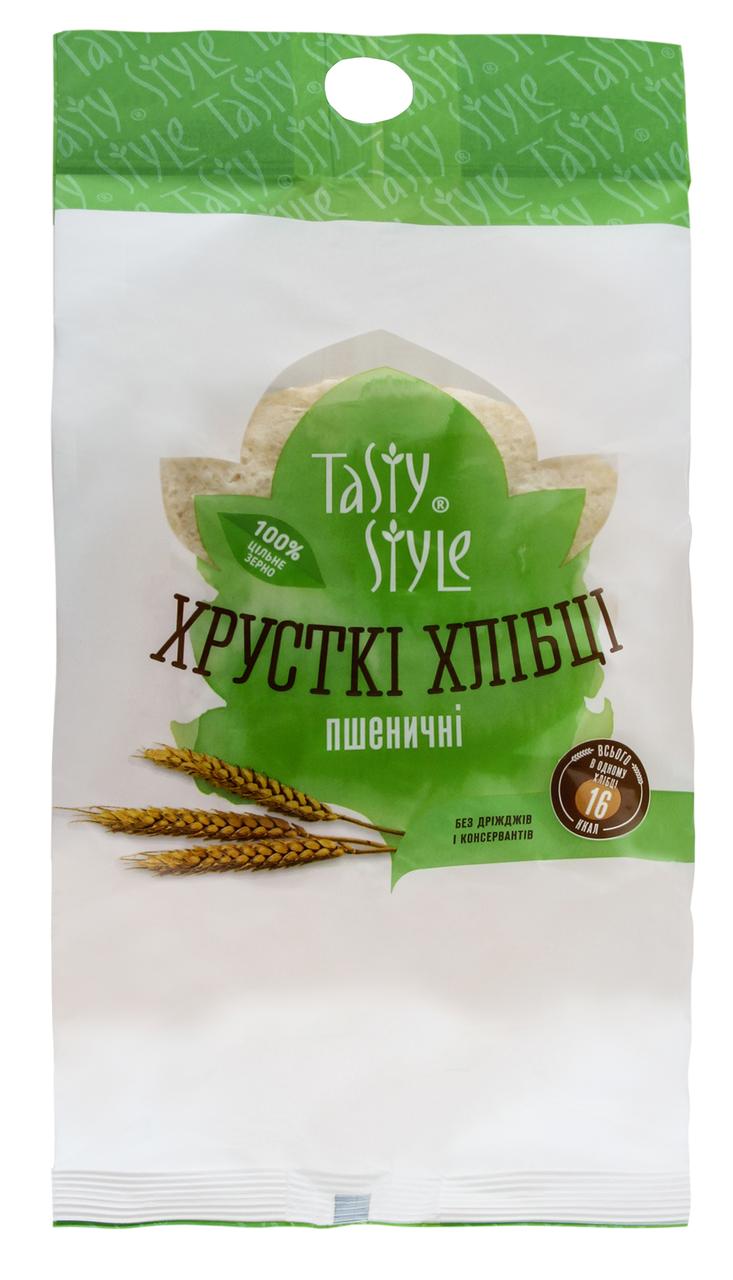 Хлібці Tasty Style Пшеничні хрусткі 60г