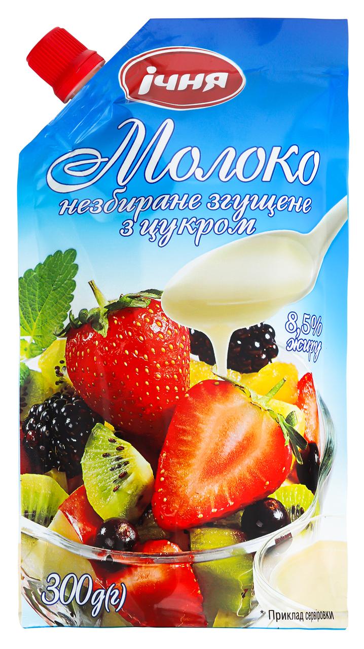 Молоко згущене Ічня незбиране з цукром 8,5% 300г