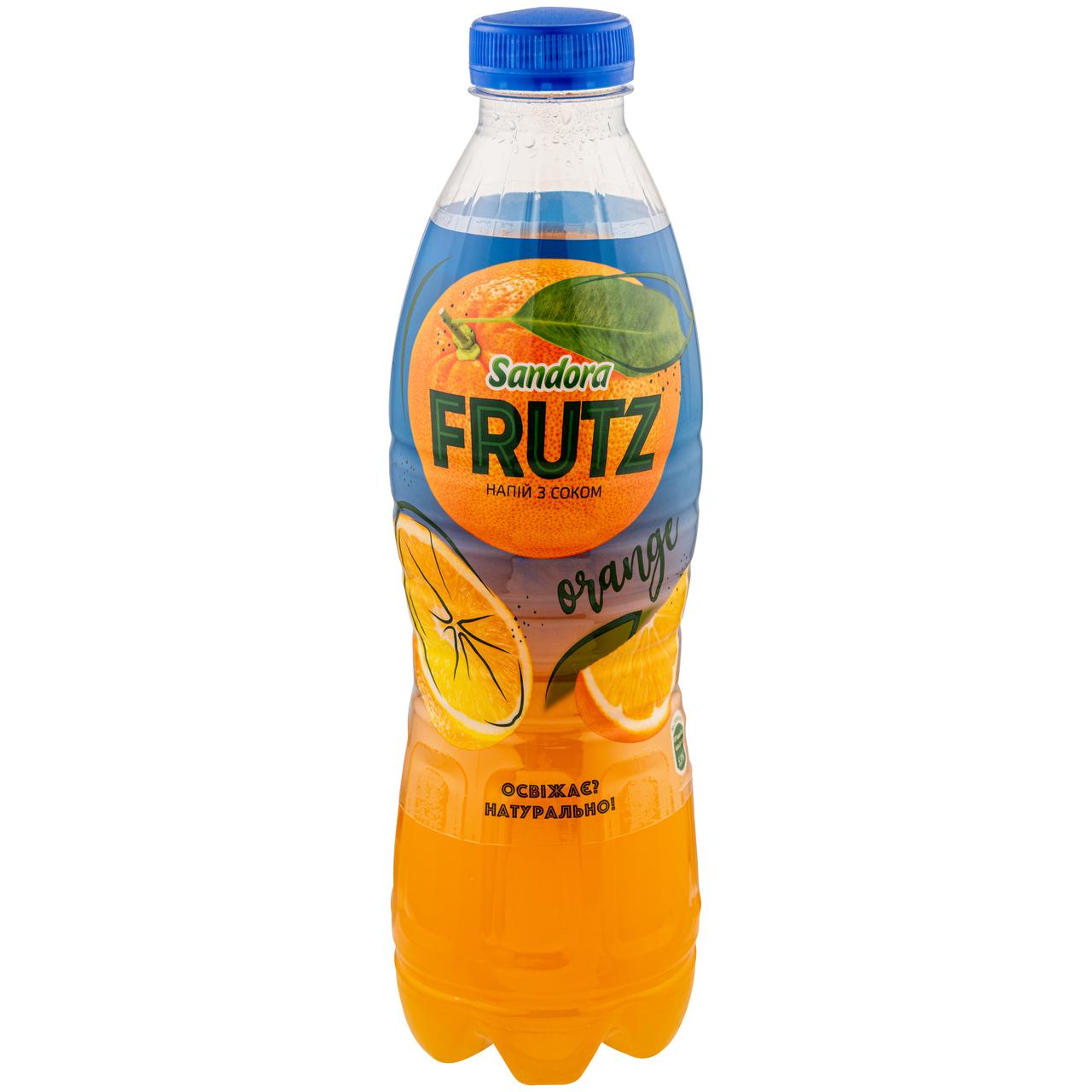 Напій соковий Sandora Frutz Апельсин негазований 1л