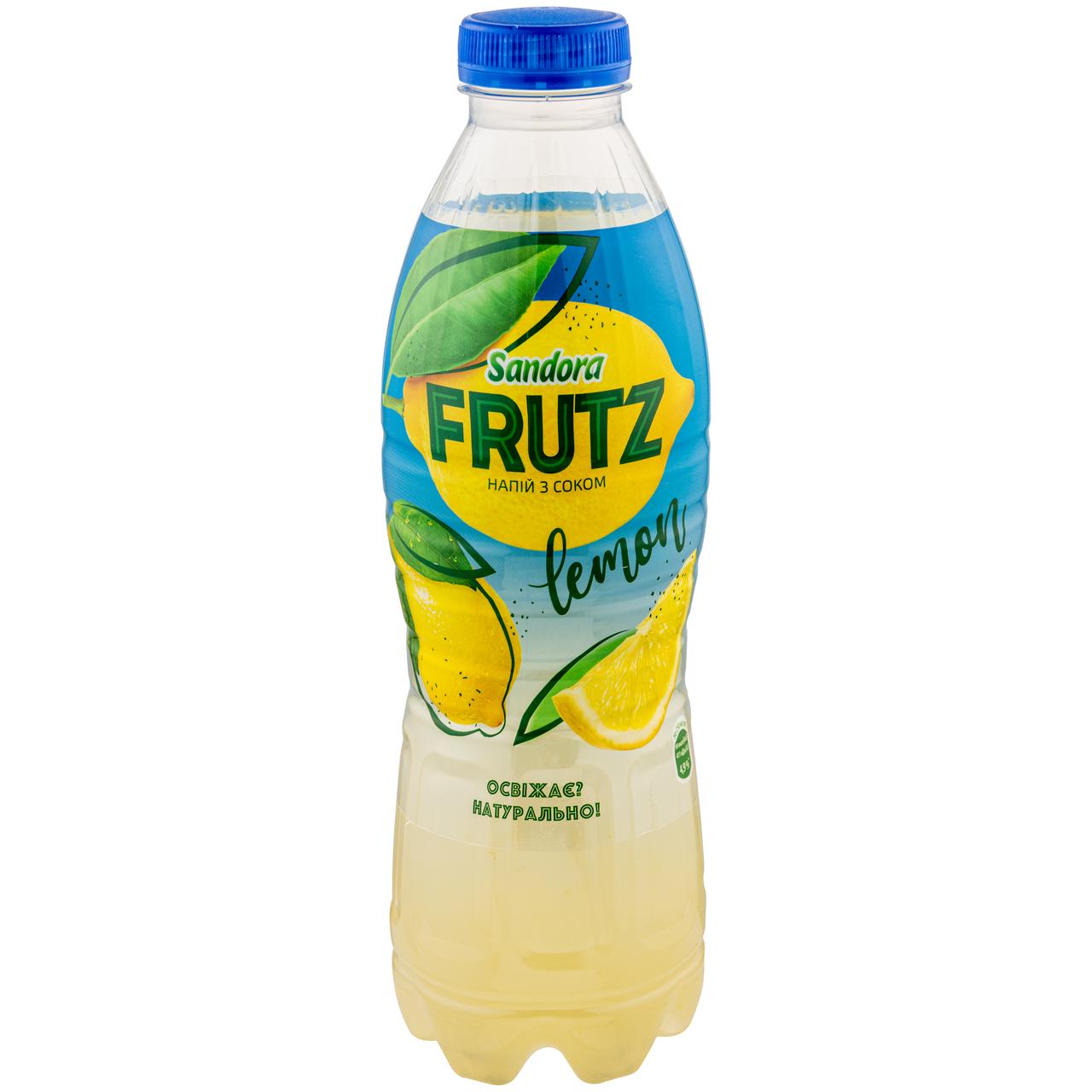 Напій соковмісний Sandora Frutz Лимон негазований 1л