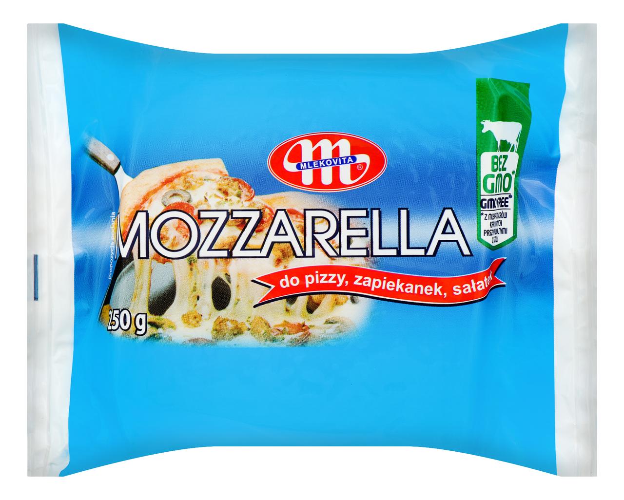Сир Mlekovita Mozzarella м`який 40% 250г