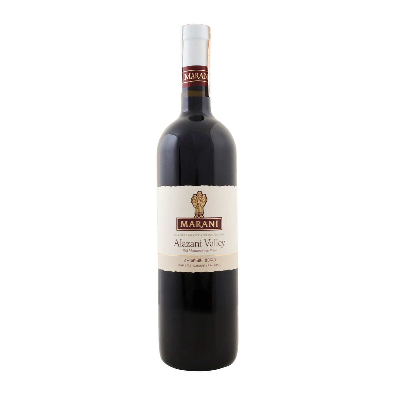 Вино Marani Алазанська долина червоне напівсолодке 12% 0.75л