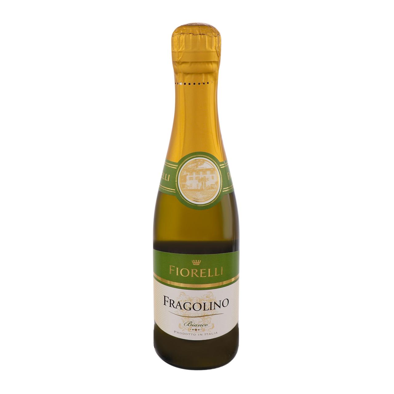Напій винний Fiorelli Fragolino Bianco 7% 0.2л