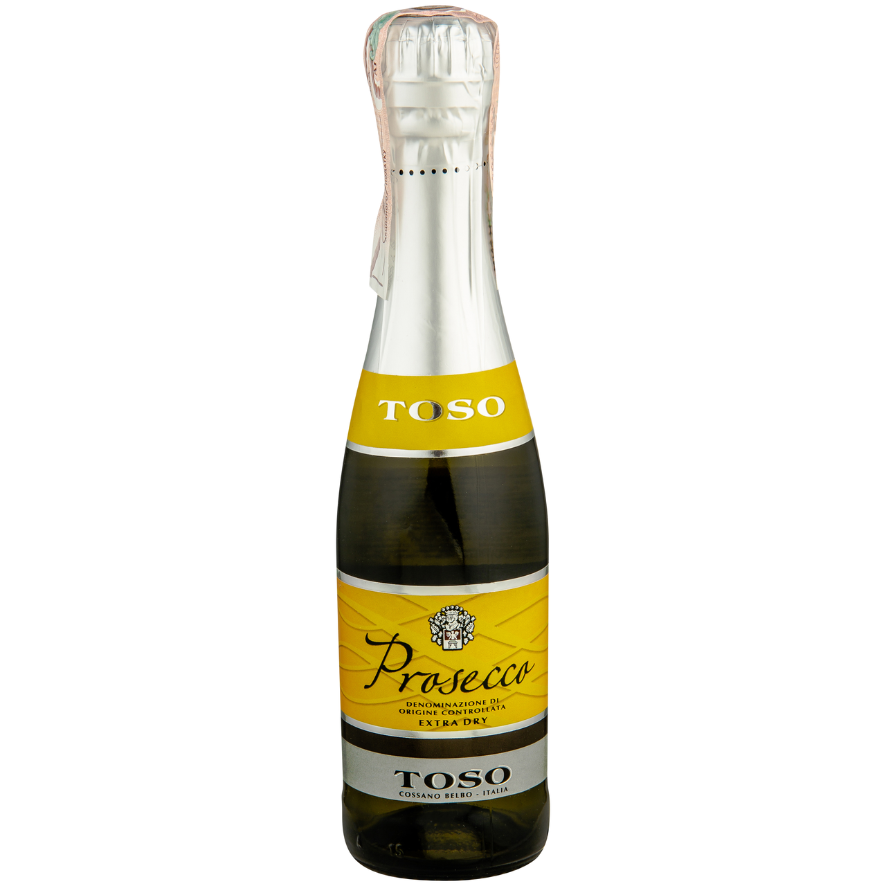 Вино ігристе Prosecco Toso біле сухе 11% 0.2л