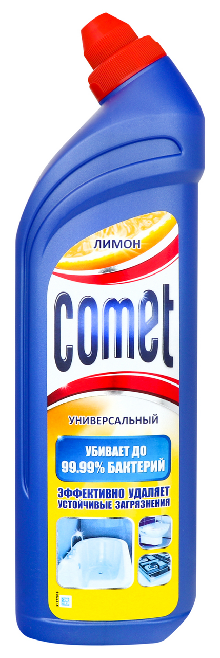 Гель чистячий Comet лимон універсальний 1л
