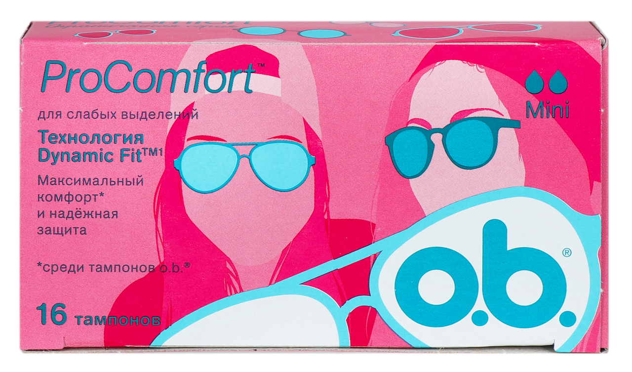 Тампони o.b. ProComfort Mini 16шт