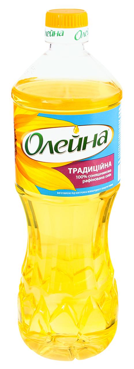 Олія соняшникова Олейна Традиційна рафінована 0.85л