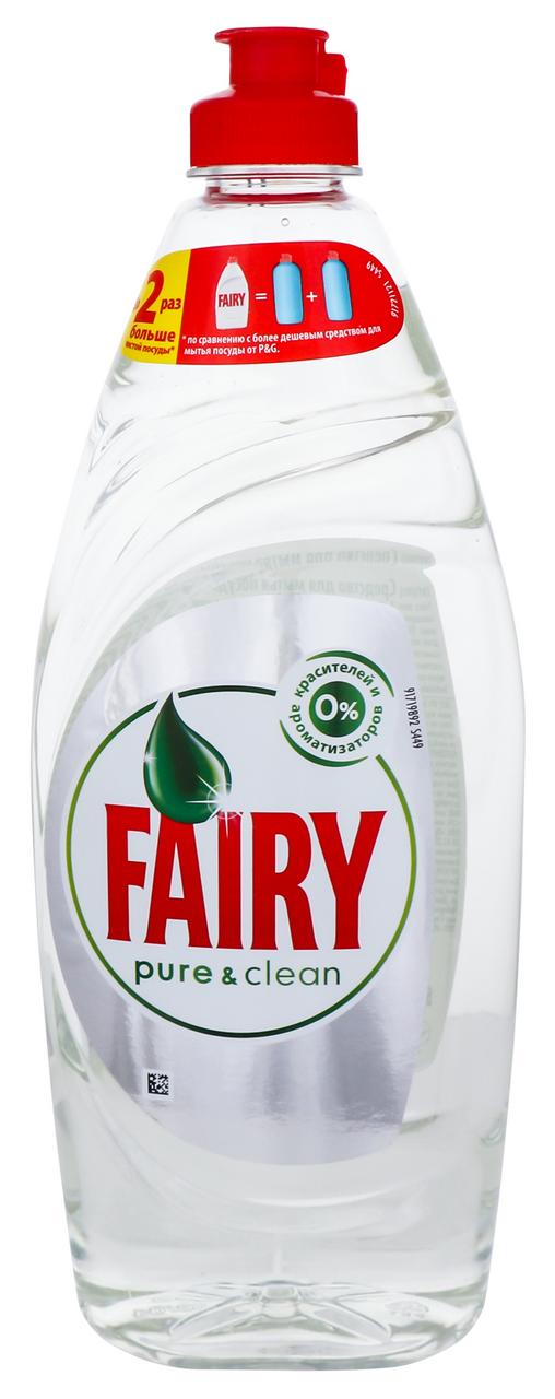 Засіб для миття посуду Fairy Pure & Clean 650мл