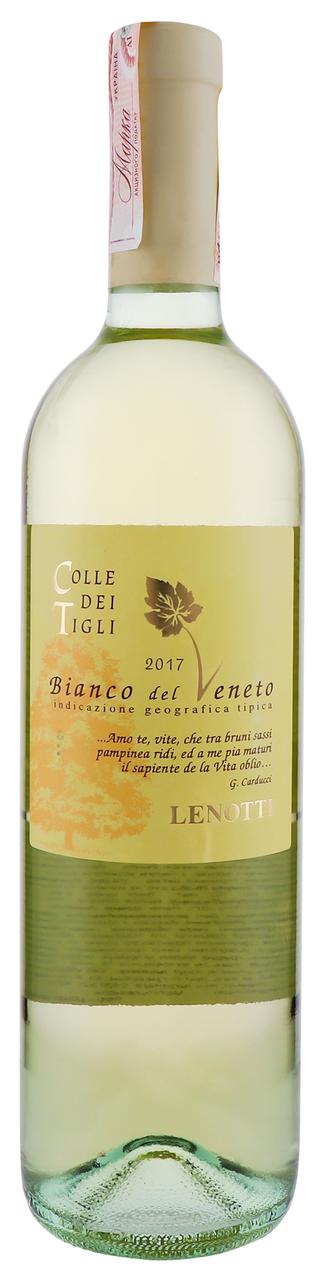 Вино Lenotti Colle Dei Tigli напівсухе біле 12.5% 0.75л