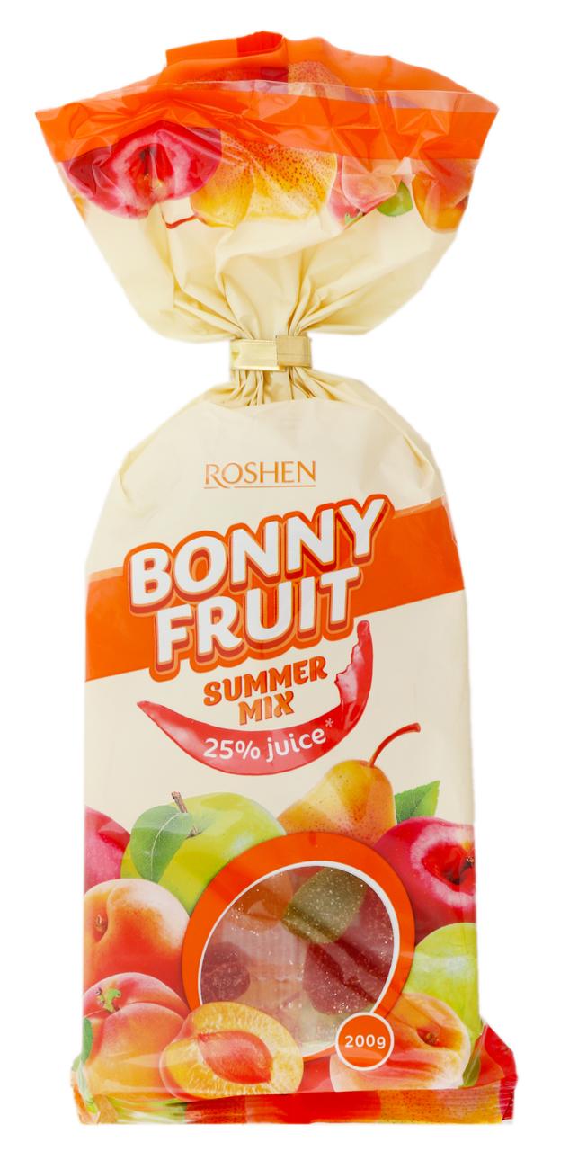 Цукерки желейні Roshen Bonny Fruit Summer Mix 200г