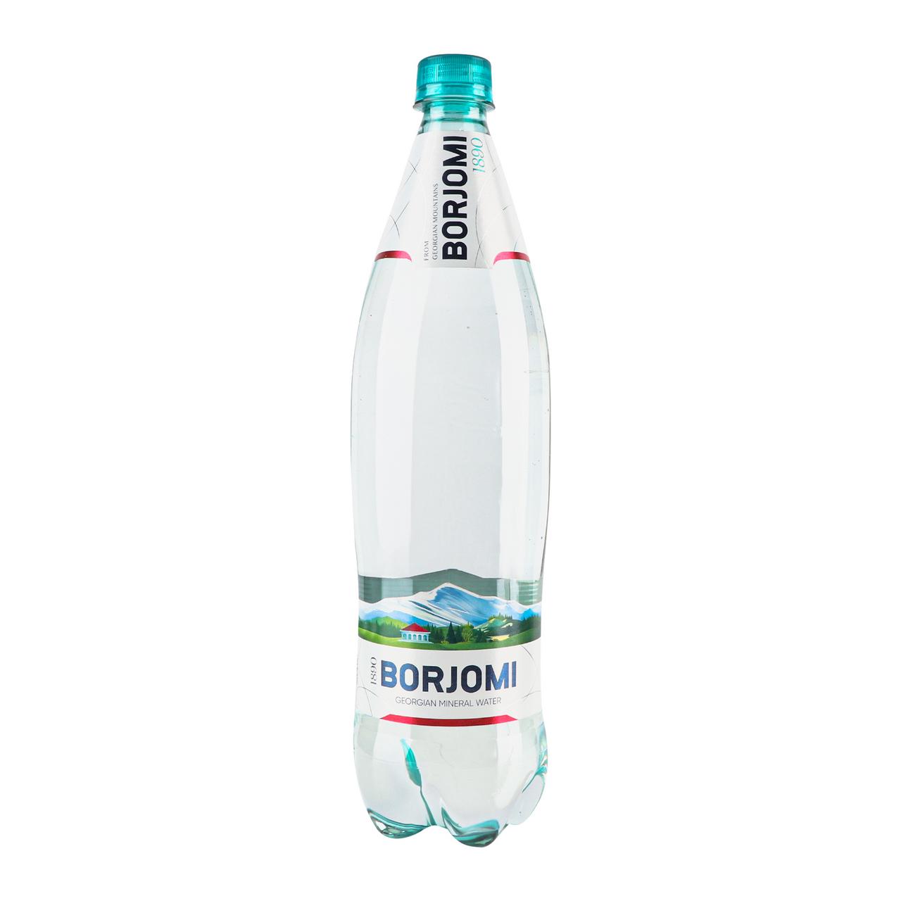 Вода мінеральна Borjomi сильногазована 1л