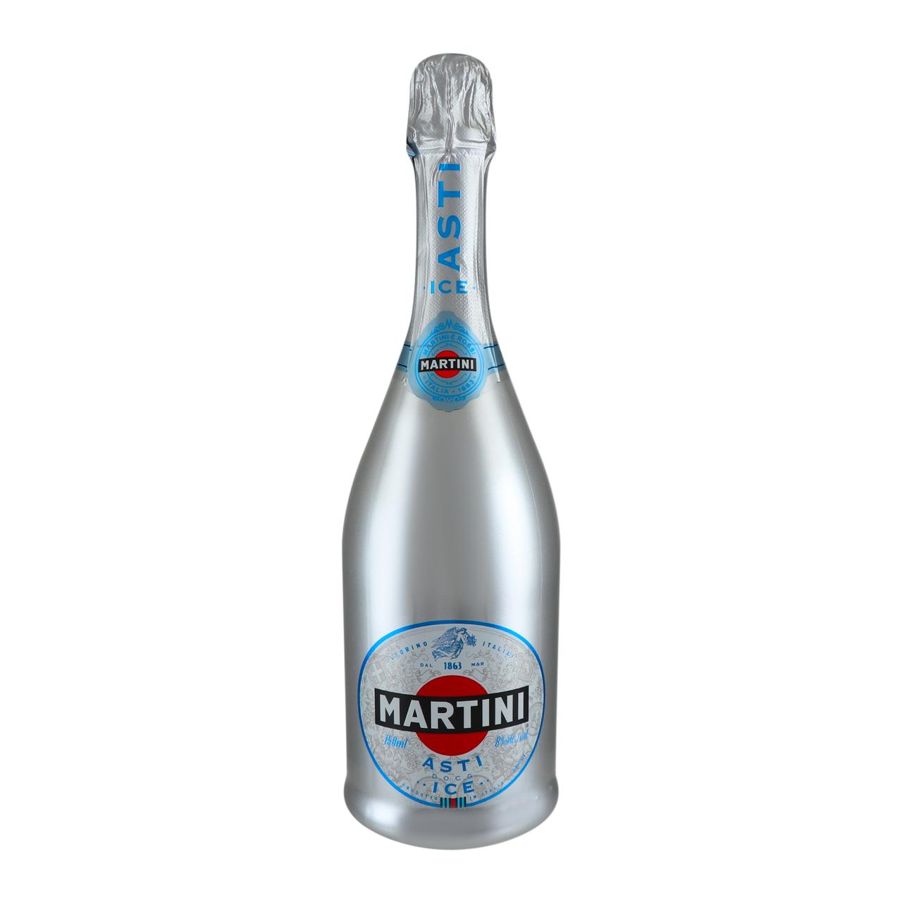 Вино ігристе Martini Asti Ice біле солодке 8% 750мл