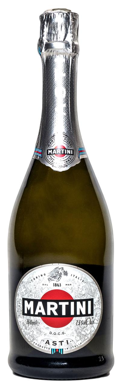 Вино ігристе Martini Asti біле солодке 7,5% 750мл