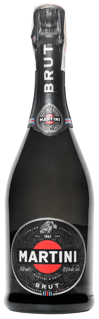 Вино ігристе Martini Brut біле 11,5% 750мл
