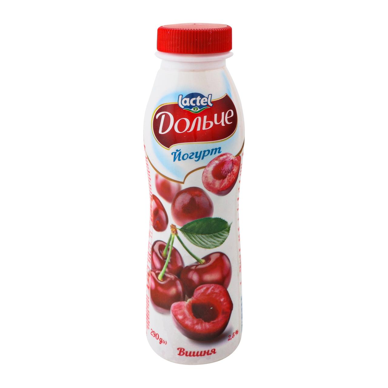 Йогурт Дольче Вишня 2.5% 290г