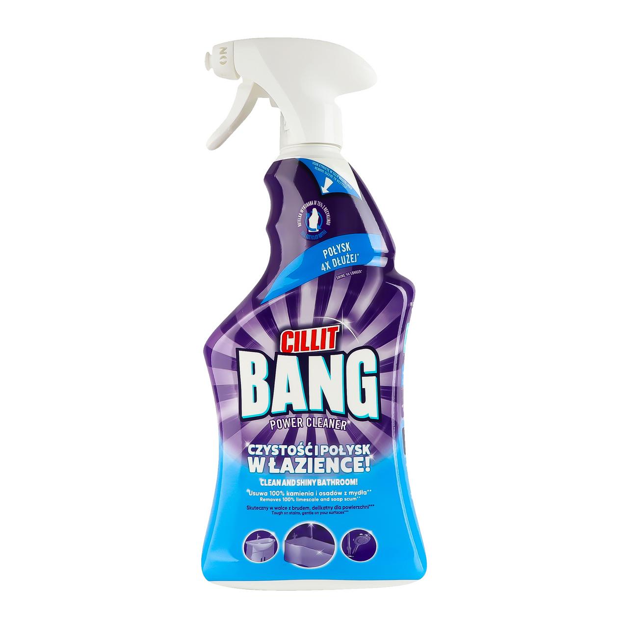 Засіб для очищення Cillit Bang Чистота та Блиск ванної 750мл