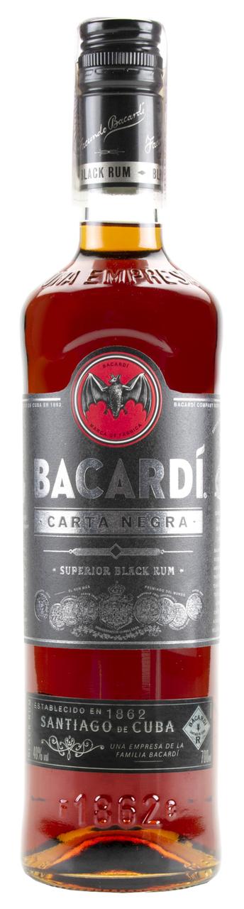 Ром Bacardi Carta Negra темний 40% 0,7л