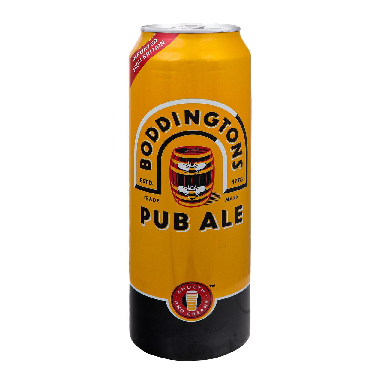 Пиво Boddingtons Pub ale світле пастеризоване 4.6% 0.5л