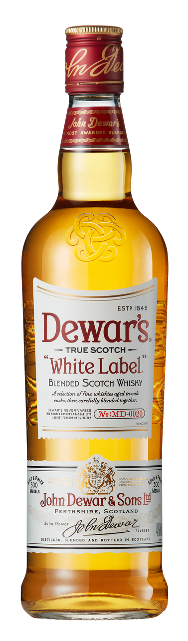 Віскі Dewar`s White Label 40% 1л в коробці