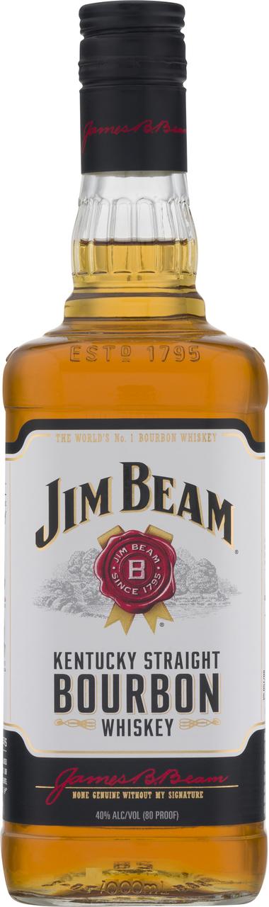 Віскі Jim Beam White 40% 1л