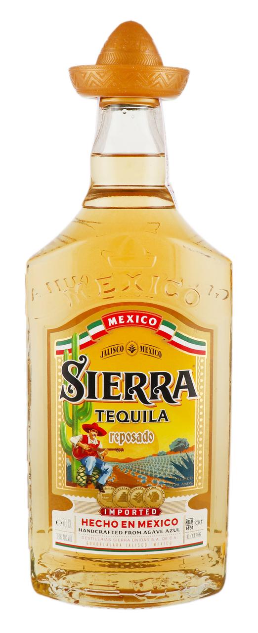 Текіла Sierra ReposadoGold38% 0,7л