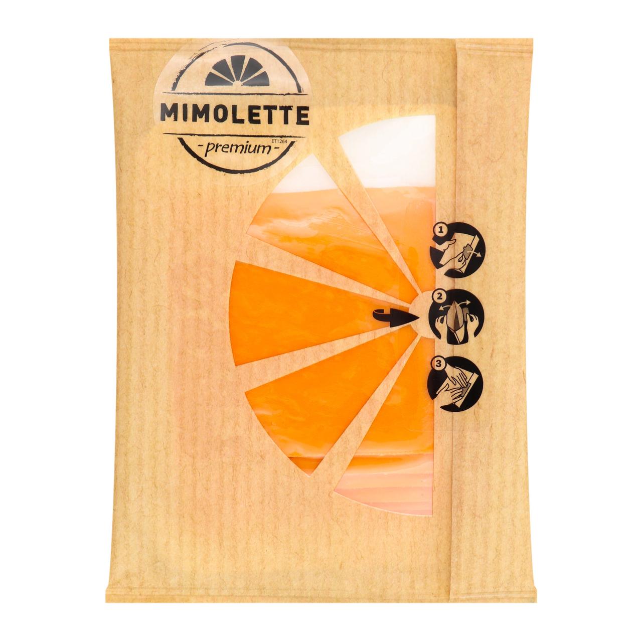 Сир Euroser Dairy Group Mimolette твердий нарізний 43% 100г