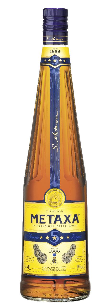Напій алкогольний Metaxa 5* 38% 0,5л
